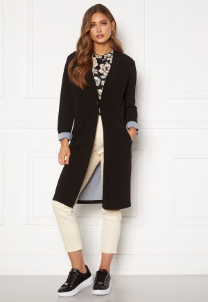 Happy Holly Stefanie tricot coat Black 36/38