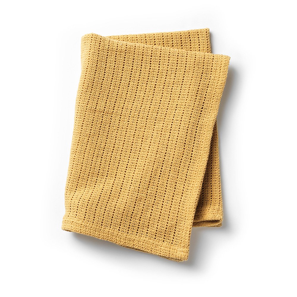 Cellular Blanket - Gold