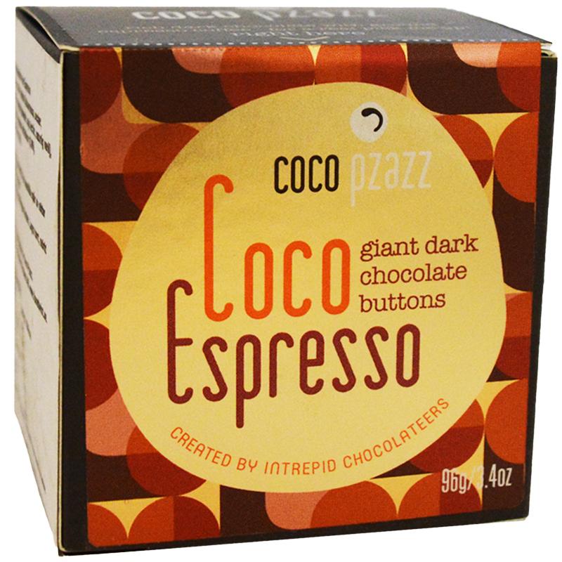 "Chokladplattor ""Coco Espresso"" 96g - 47% rabatt"