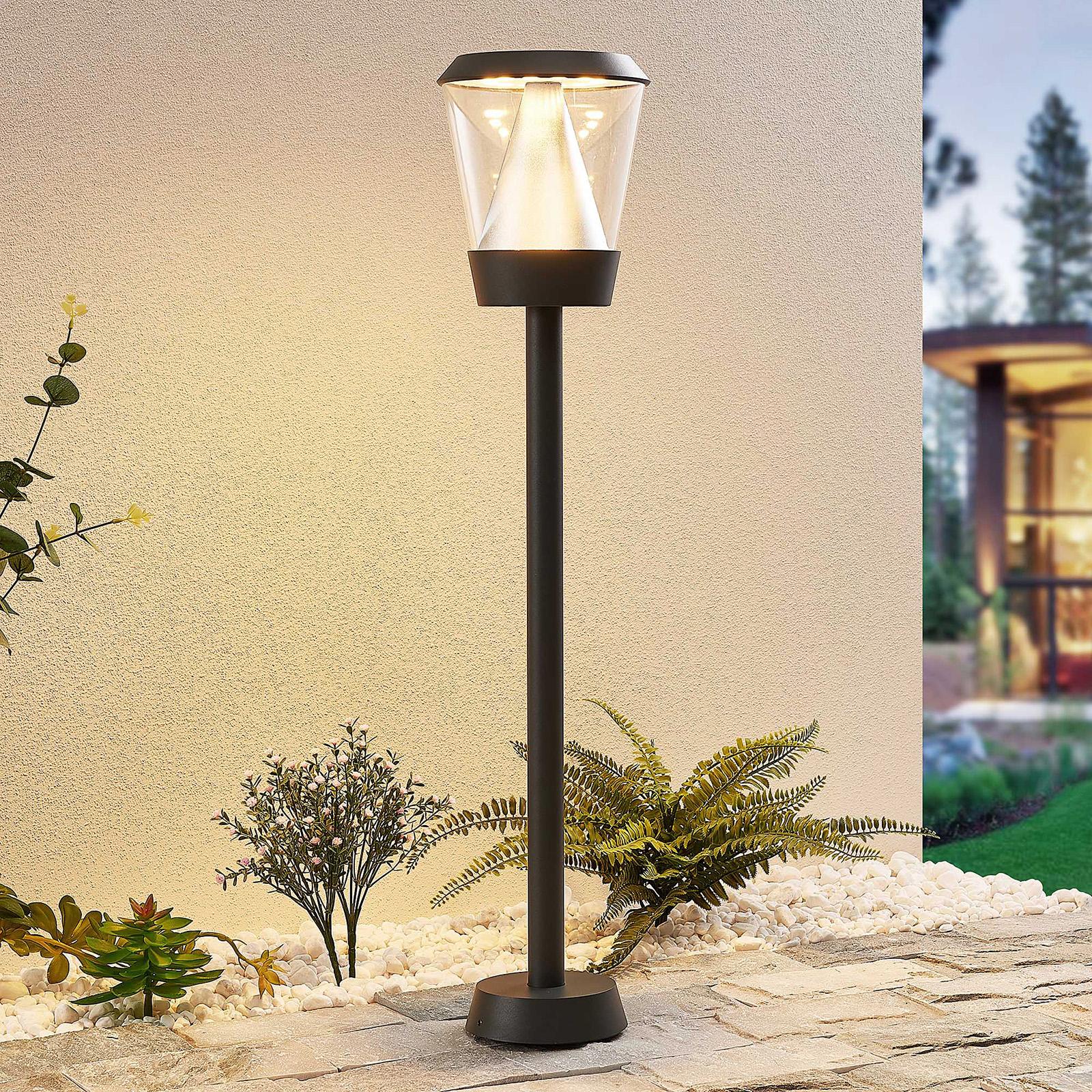 Lucande Tiany -LED-pylväsvalaisin, 80 cm