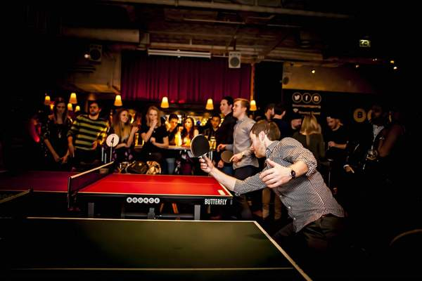 Table Tennis Masterclass