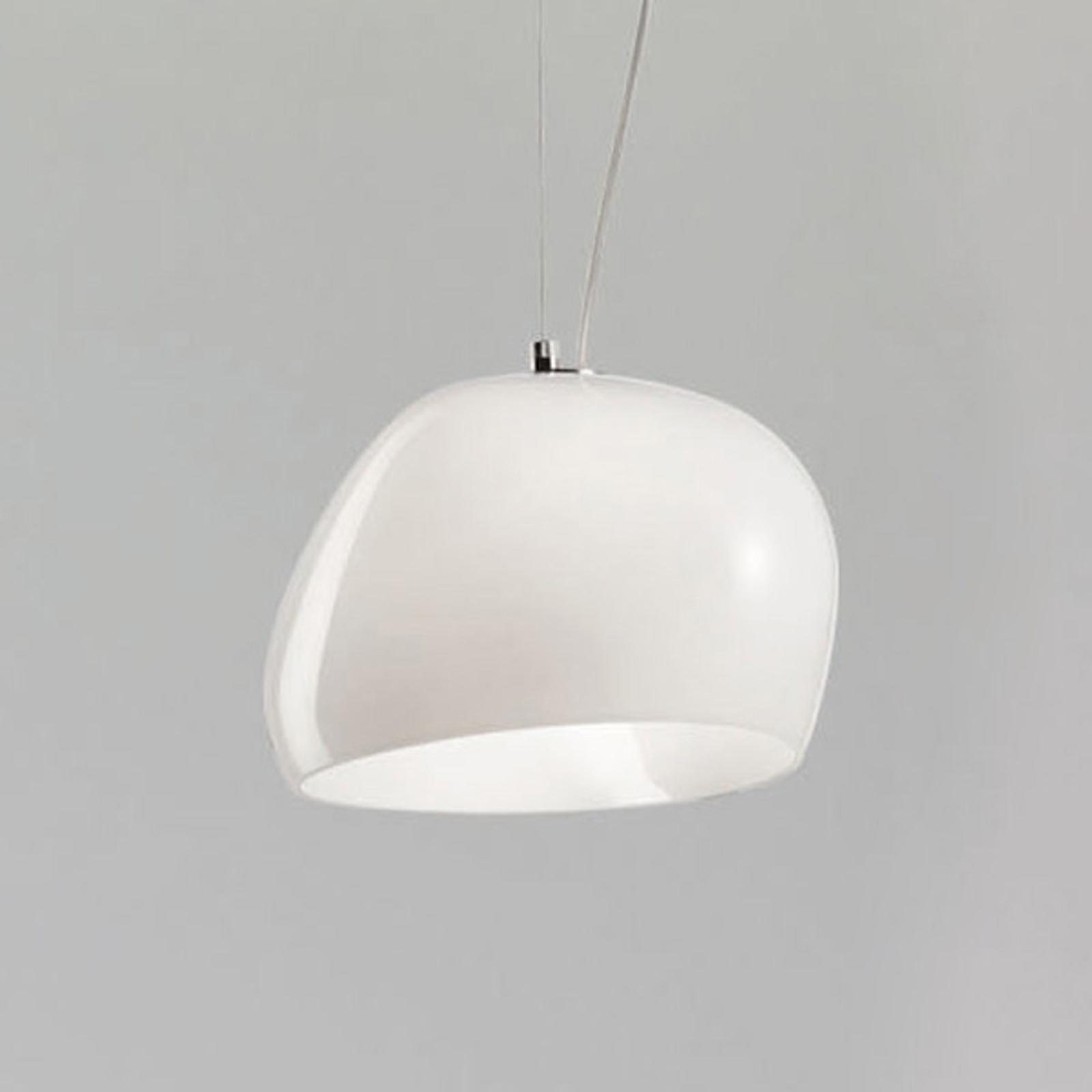 Riippuvalo Surface Ø 27 cm E27 valkoinen/valkoinen