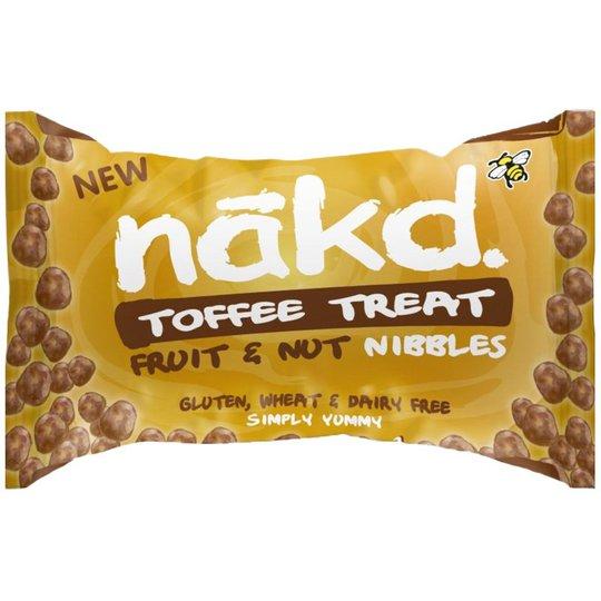 """Frukt- & Nötgodis """"Toffee Treat"""" 40g - 49% rabatt"""