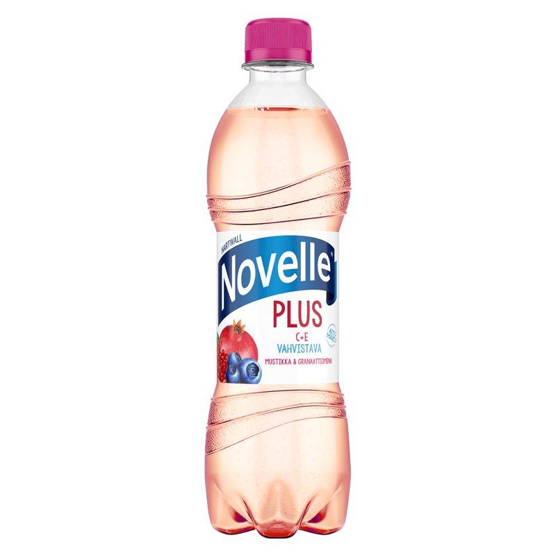 Novelle Plus Mustikka & Granaattiomena - 32% alennus