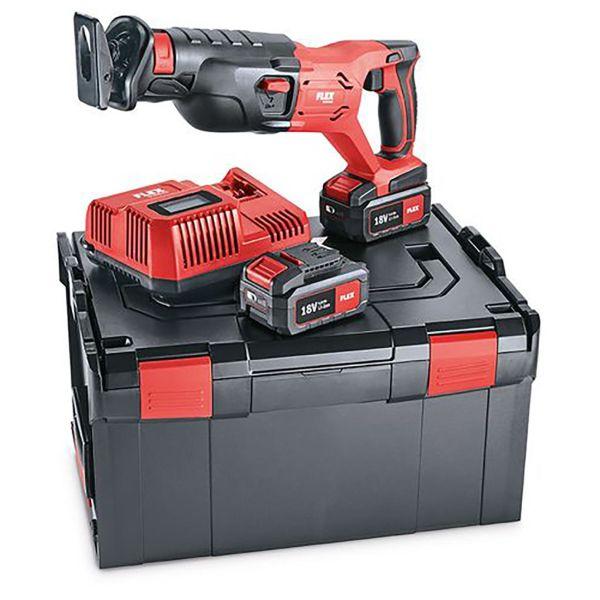 Flex RS29 18.0 Set Tigersag med batterier og lader