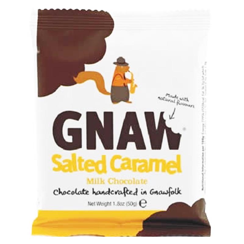 """Mjölkchoklad """"Salted Caramel"""" 50g - 75% rabatt"""