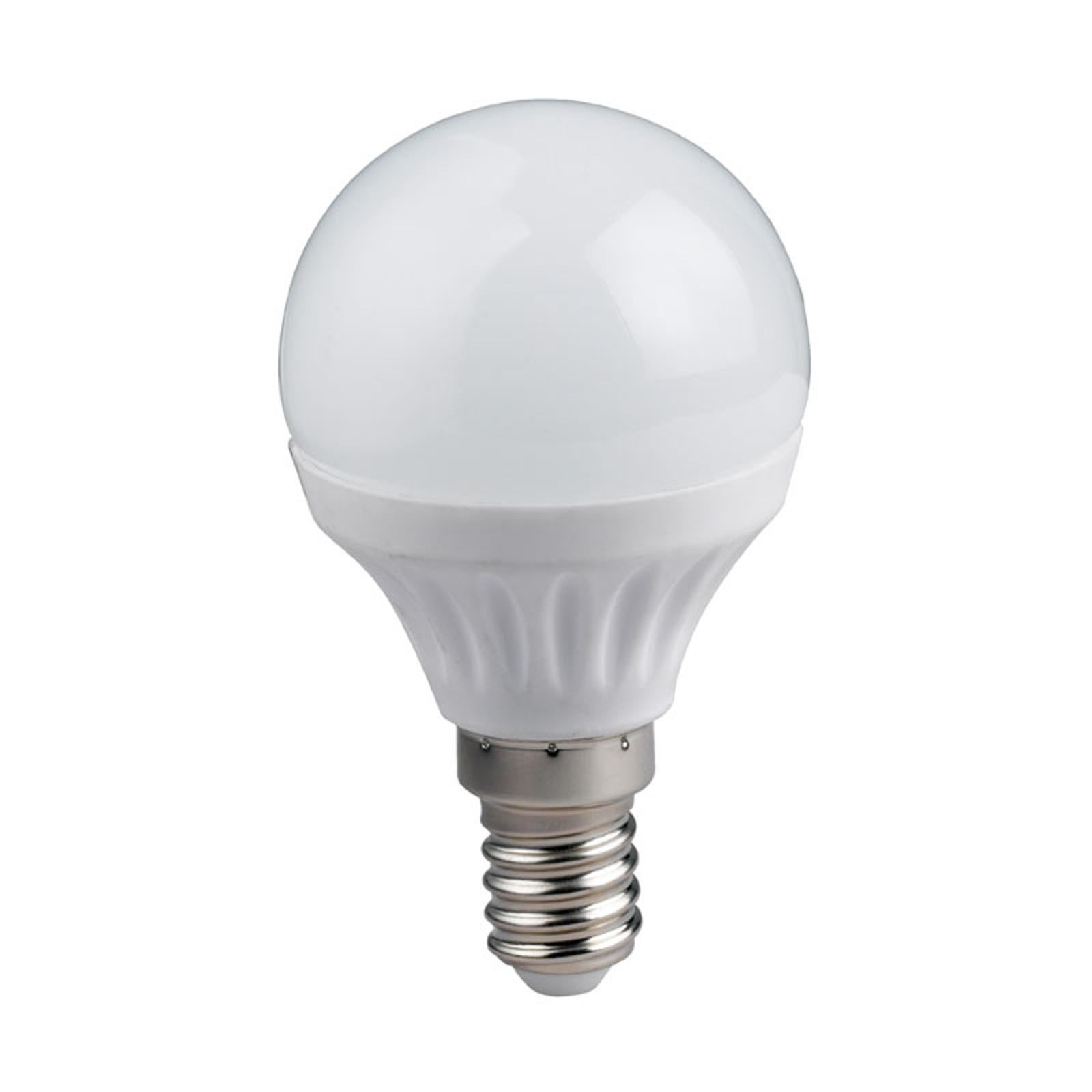 E14 4W LED-pisaralamppu lämmin valkoinen