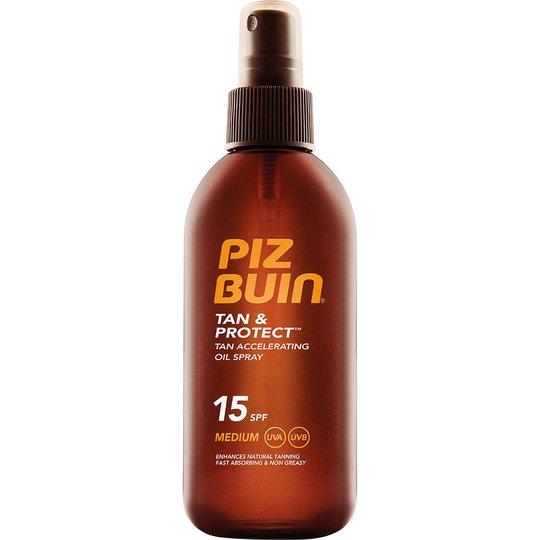 Piz Buin Tan & Protect Oil Spray SPF 15, 150 ml Piz Buin Aurinkovoiteet