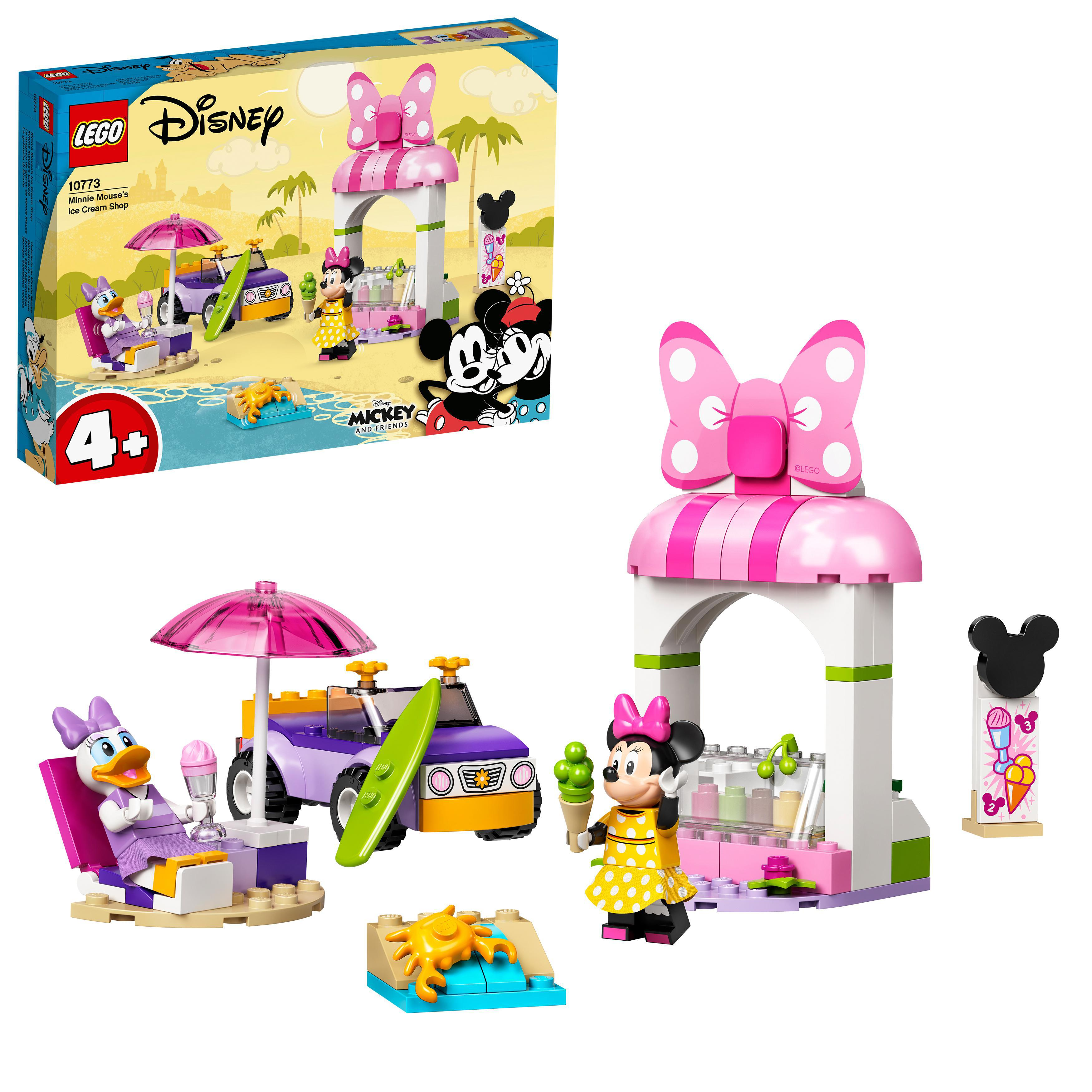 LEGO Mickey Mouse - Minnie Mouse's Ice Cream Shop (10773)