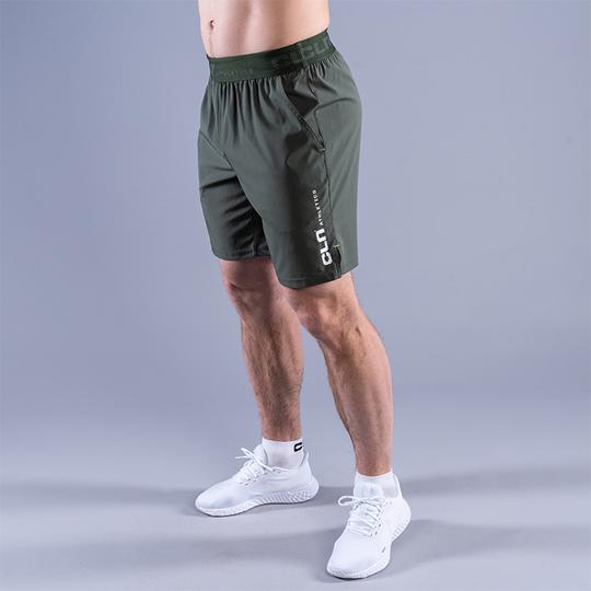 CLN Dino Stretch Shorts, Moss Green
