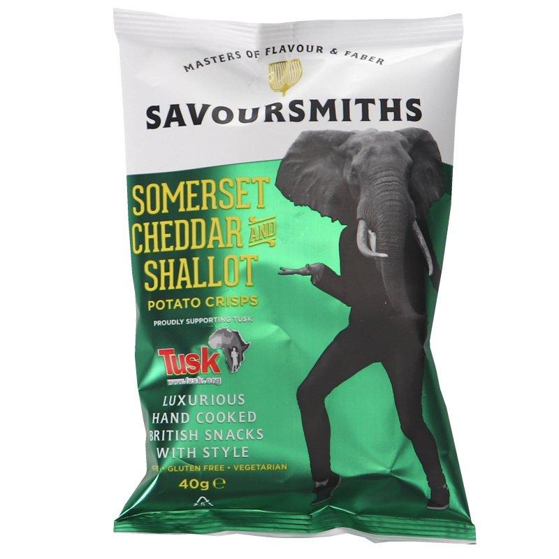 Cheddar & Shallot Chips - 32% rabatt