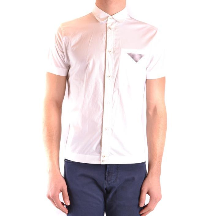 Dsquared Men's Shirt White 164827 - white 44