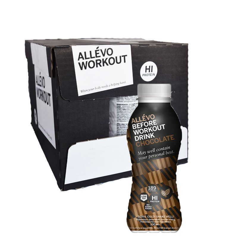 Laatikko: Proteiinijuoma, Suklaa 12 x 300 ml - 63% alennus