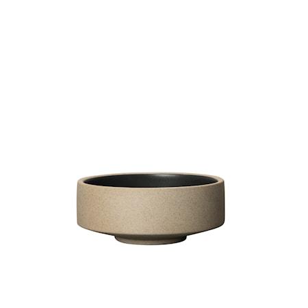 Fumiko Tapasskål Beige/Svart 12,5 cm