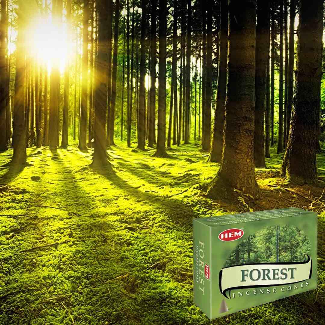 Skog Rökelsekoner HEM