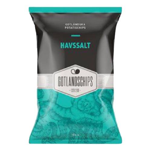 Gotlandschips Havssalt - 180 gram