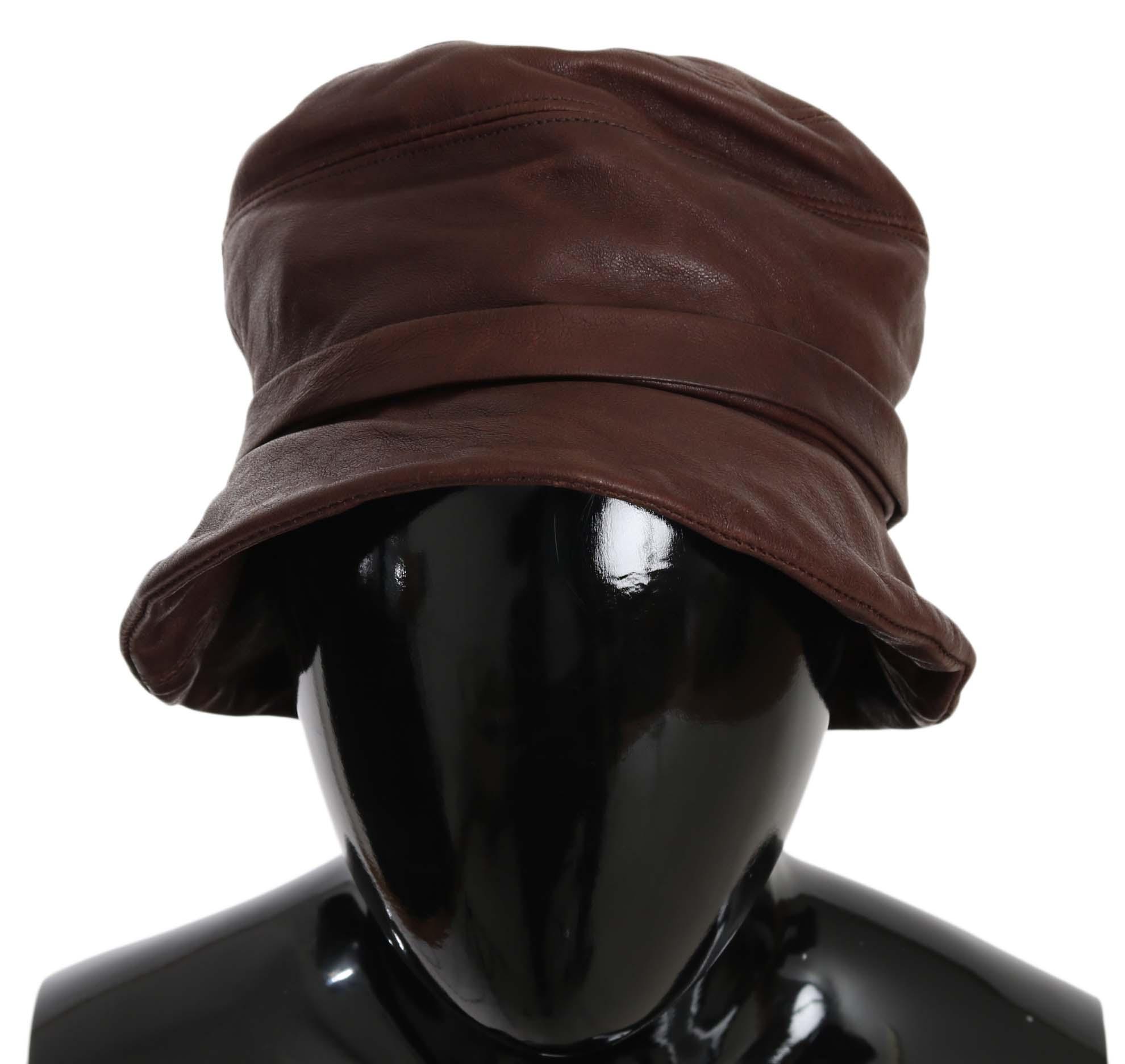 Dolce & Gabbana Women's Hat Brown HAT70215 - 56 cm|XS