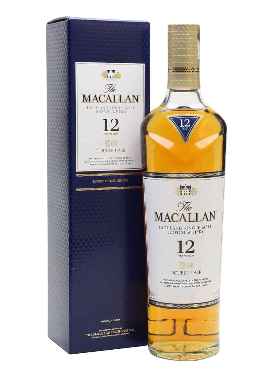 Macallan Double Cask 12 Years Old Single Malt Whisky 70cl
