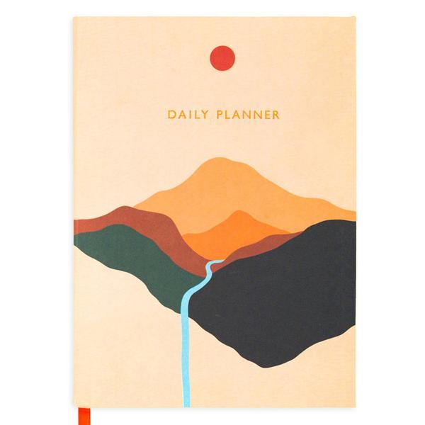 Block Landscape Daily Planner