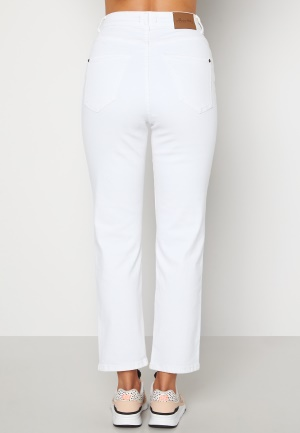 Happy Holly Peggy straight leg jeans White 40