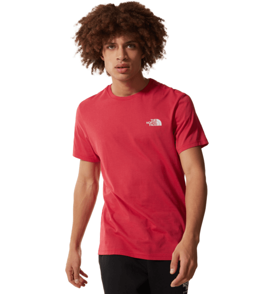 The North Face M S/s Simple Dome Te T-shirts ROCOCCO RED
