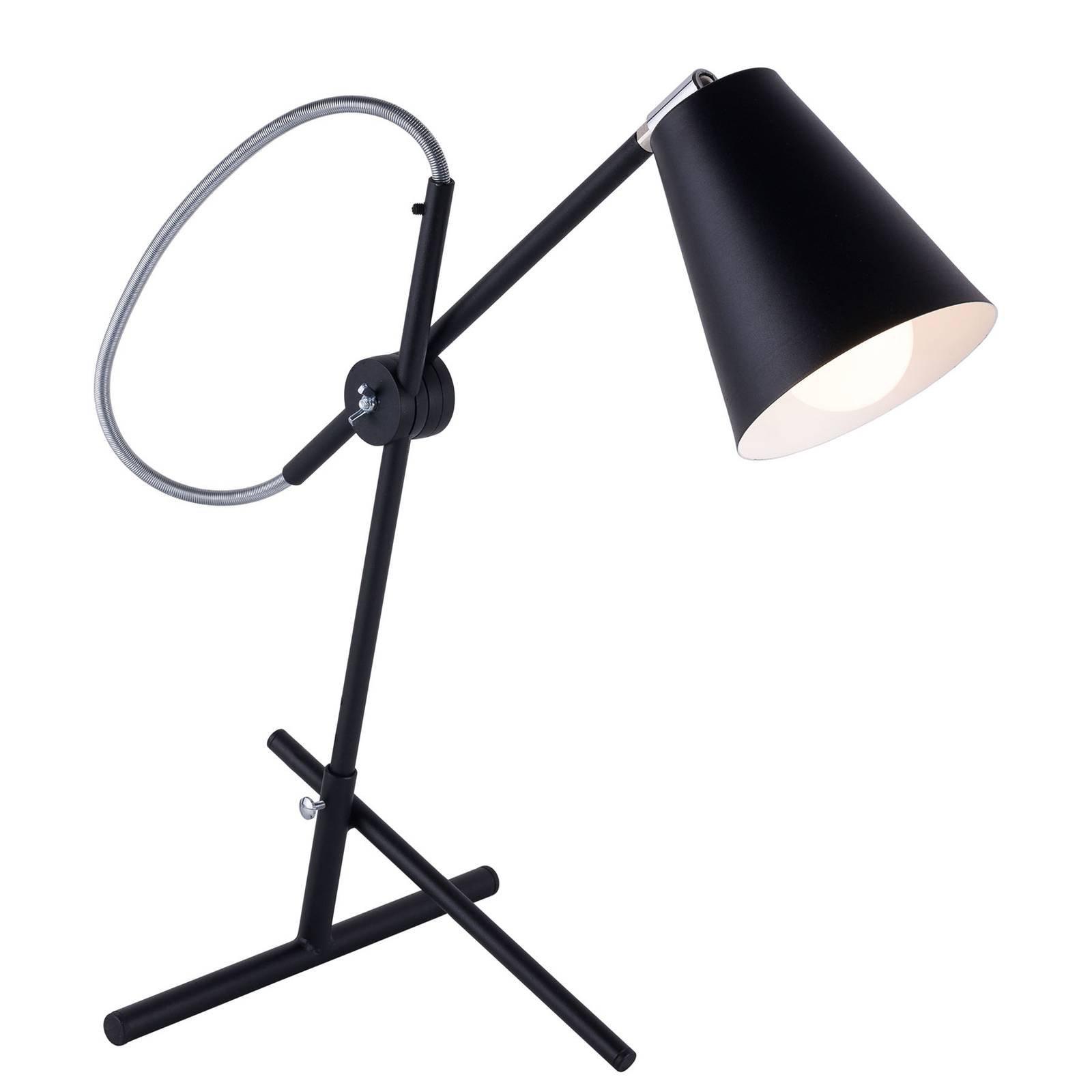 1008 bordlampe, 1 lyskilde, svart
