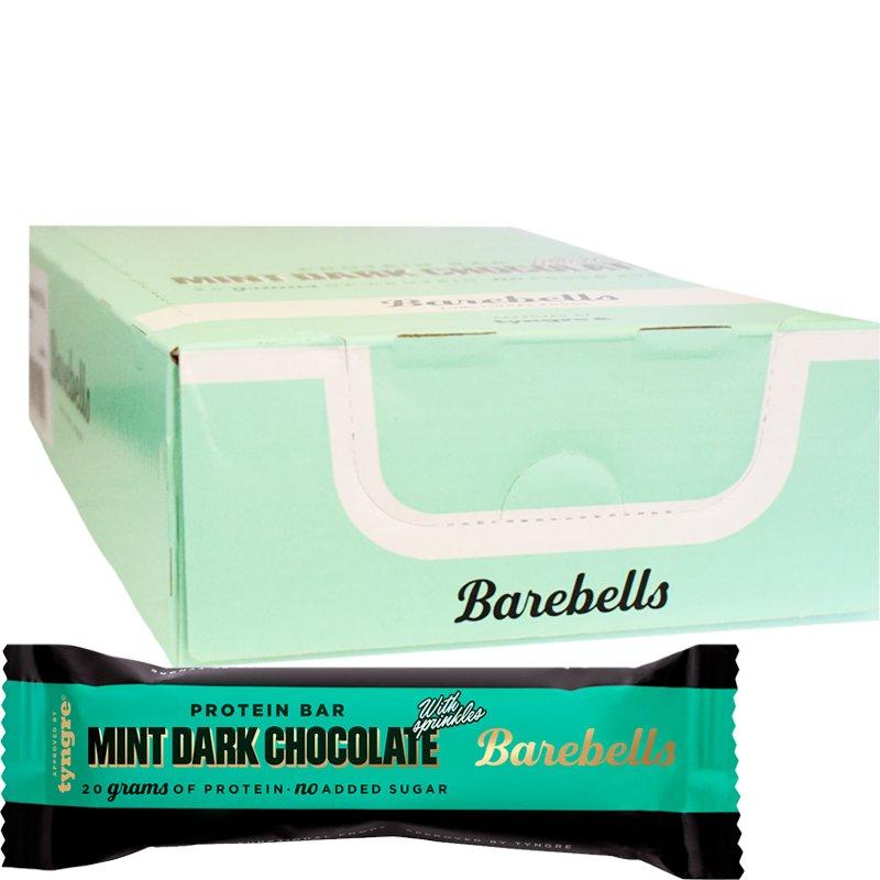 Proteiinipatukat Mint Dark Chocolate 12kpl - 69% alennus