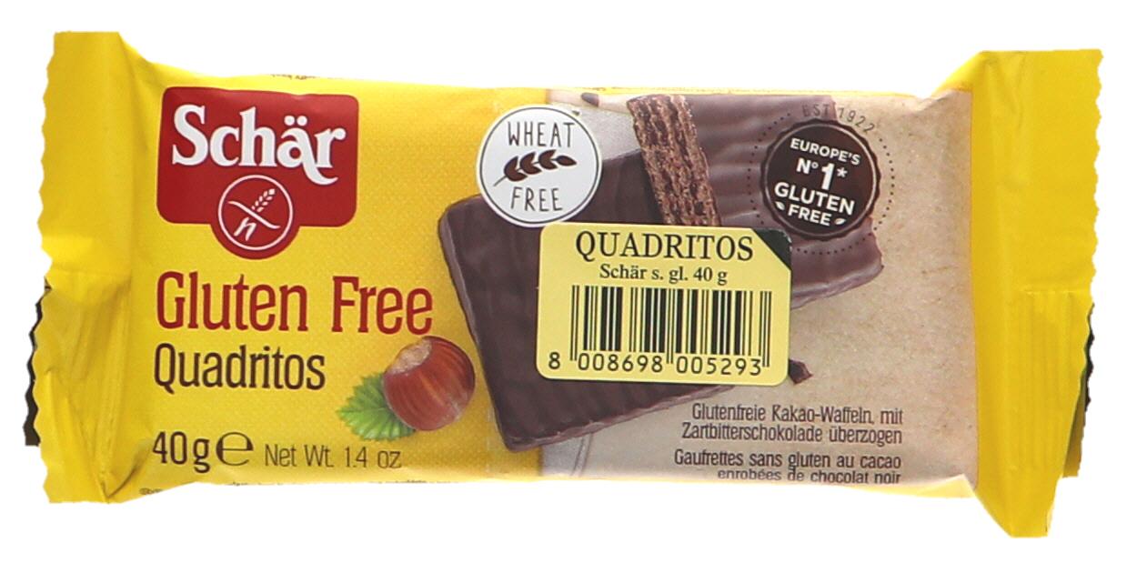 Schär Quadritos Kexchoklad - 37% rabatt