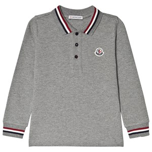 Moncler Branded Trim T-shirt Grå 8 years