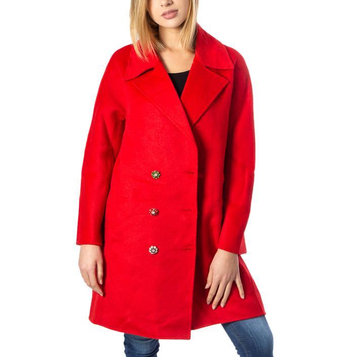 Desigual Women's Coat Red 170127 - red M