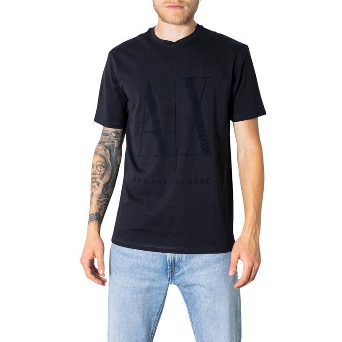 Armani Exchange Men's T-Shirt Blue 273265 - blue XS