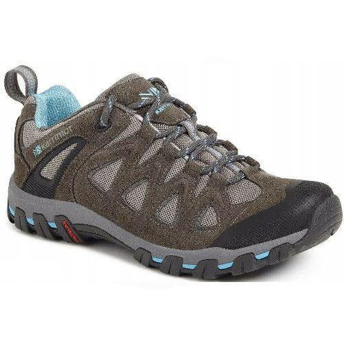 Karrimor Women's Supa V Low Rise Hiking Boots T_WMS_Supa5_K932GBL - Grey/Blue UK-7