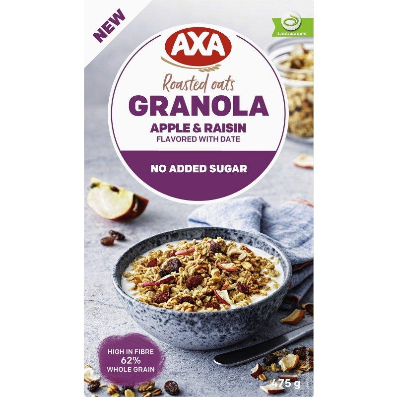 Granola Apple & Raisin - 12% rabatt