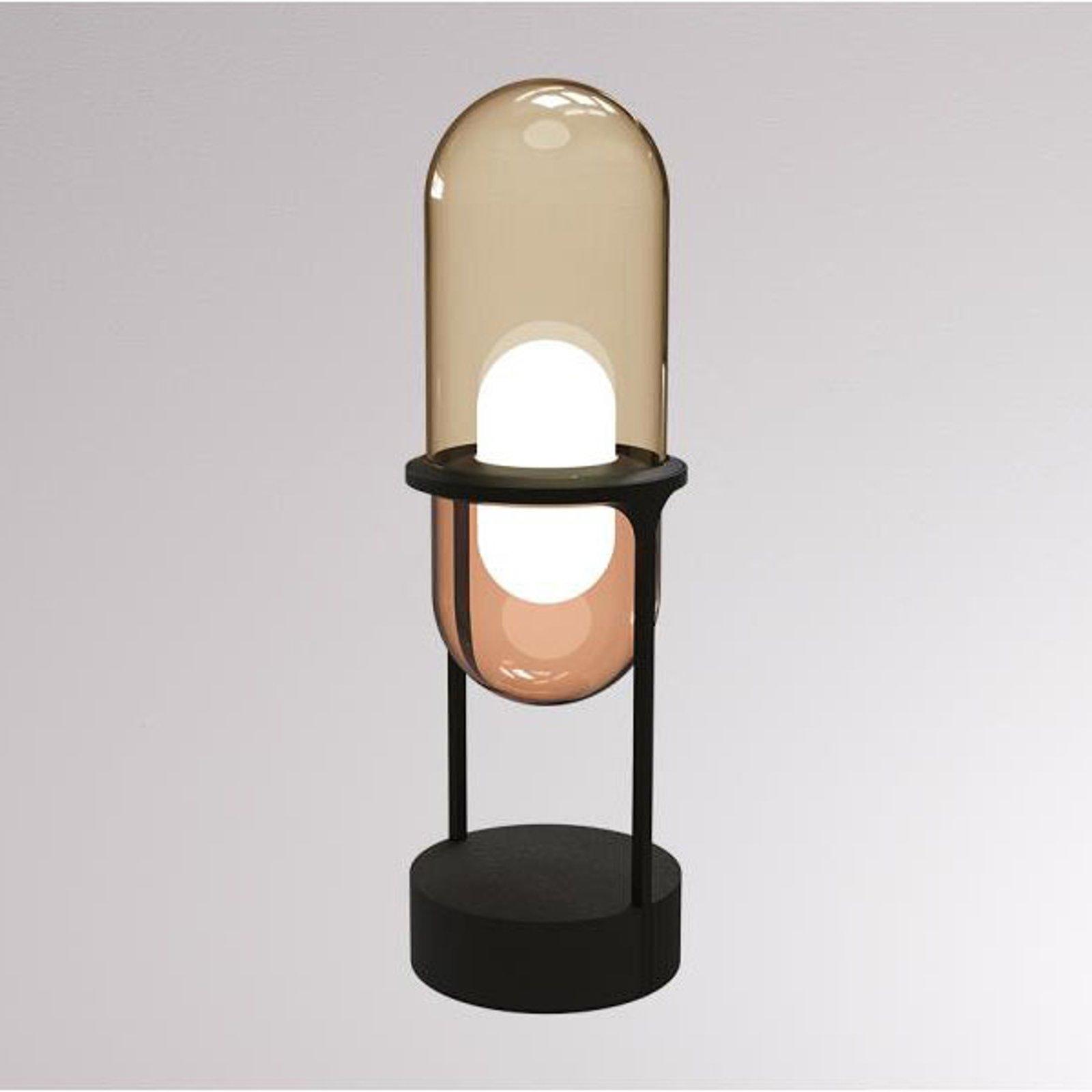 LOUM Pille LED-bordlampe champagne/kobber