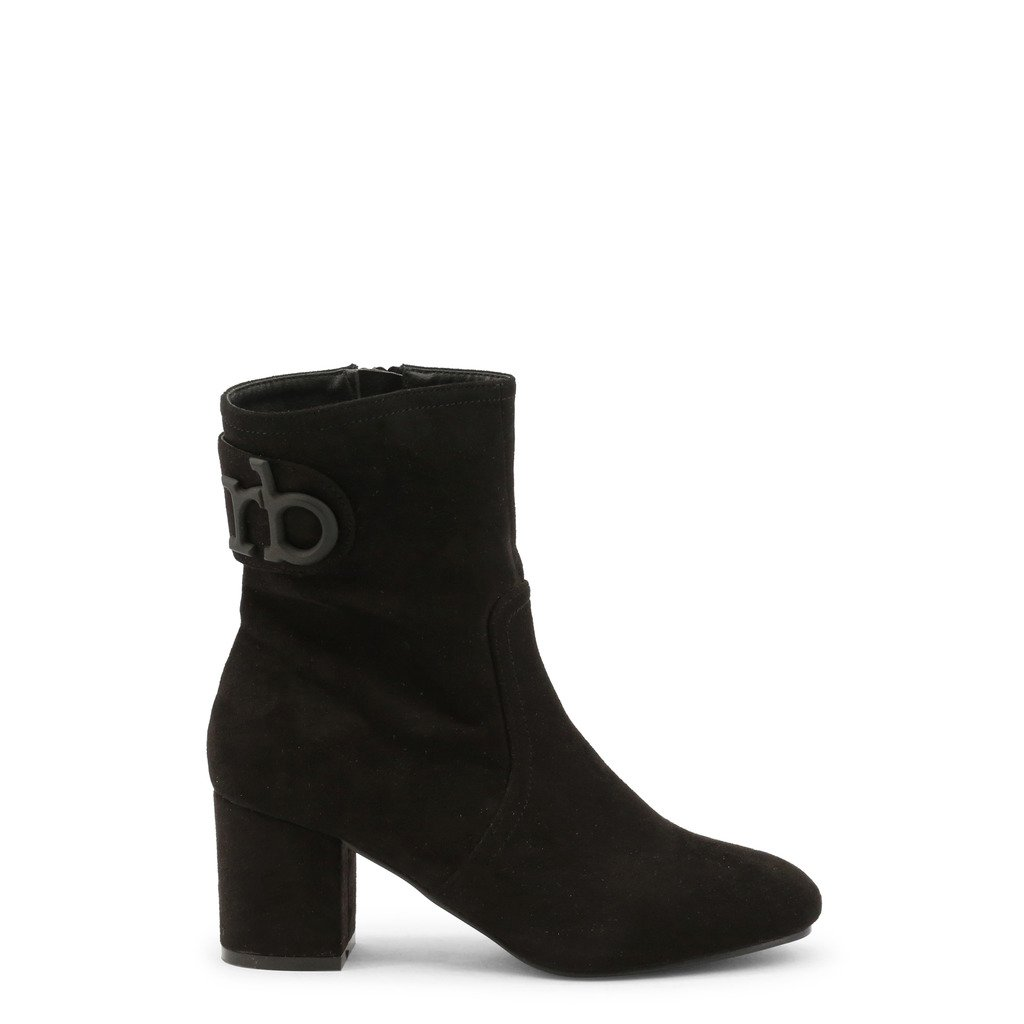 Roccobarocco Women's Ankle Boot Black RBSC1J301 - black EU 37