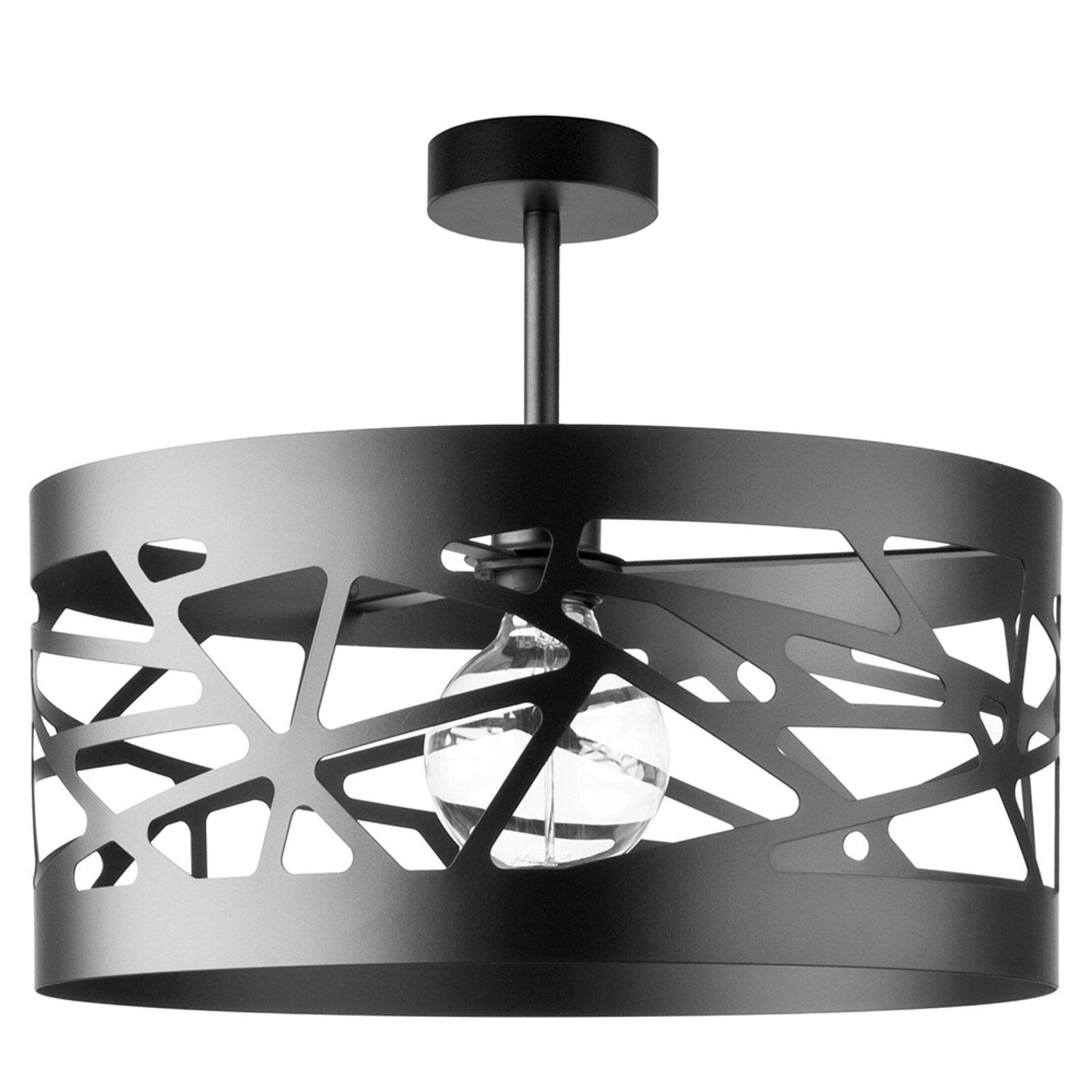 Taklampe Modul Frez mønsterskjerm Ø39cm svart