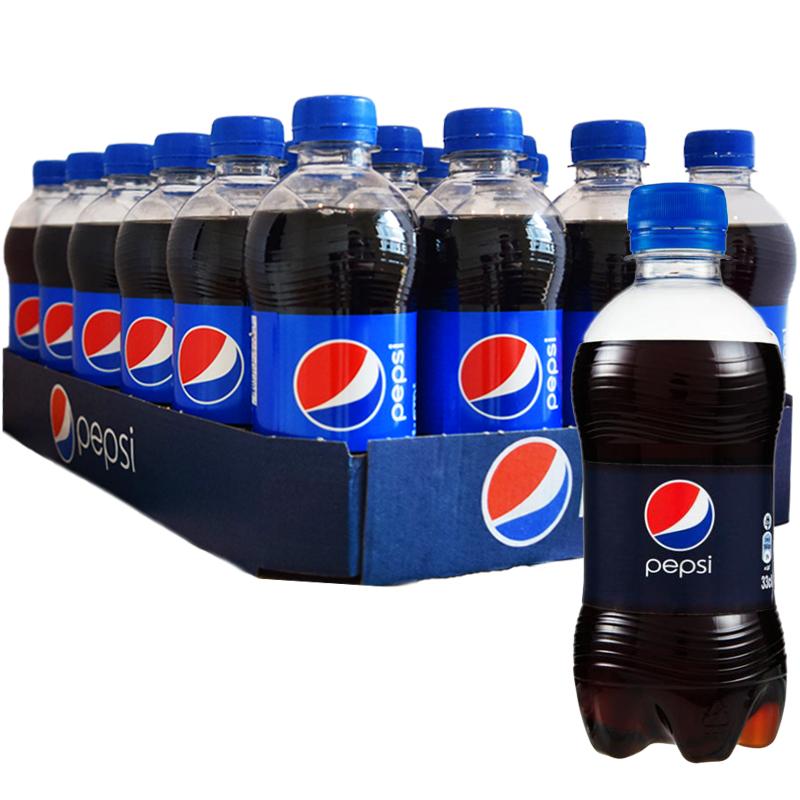 Hel Platta Pepsi 24 x 33cl - 34% rabatt