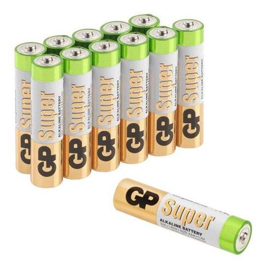GP Batteries Super Alkaline 24A-S12/LR03 Alkaliparistot AAA, 12 kpl:n pakkaus