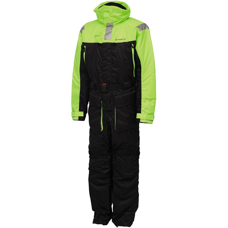 Kinetic Guardian Flotation Suit XXL Flytedress - Black/Lime