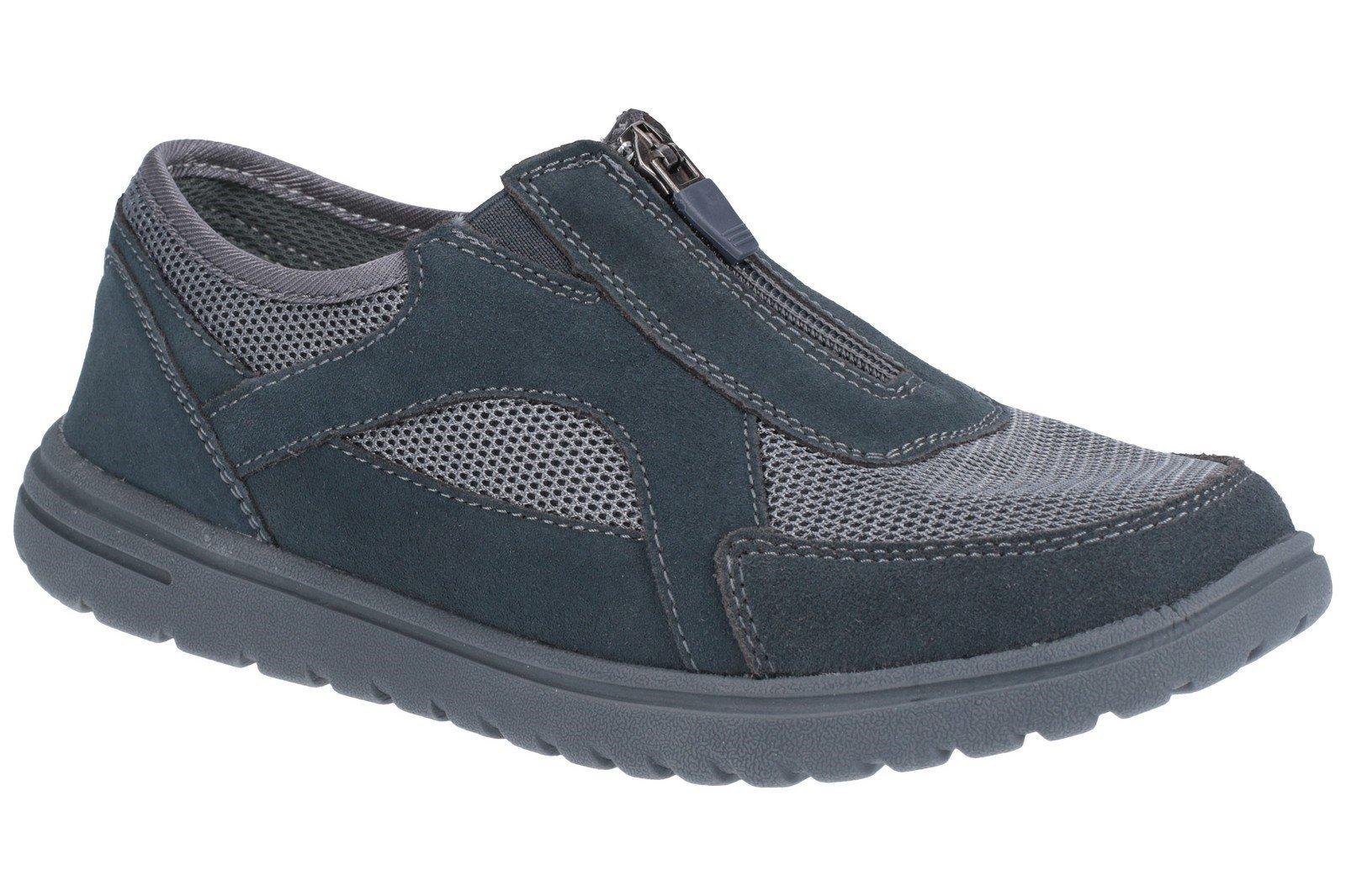 Fleet & Foster Women's Josie Zip Trainer Various Colours 27153-45622 - Grey 3