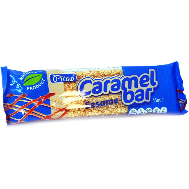 Karamell Bar Sesamfrön - 37% rabatt