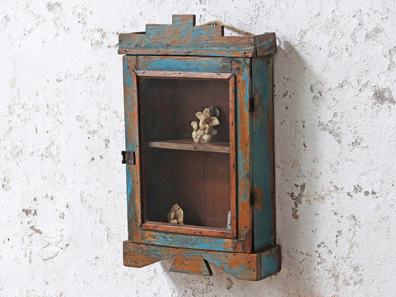 Blue Shabby Chic Cabinet Blue