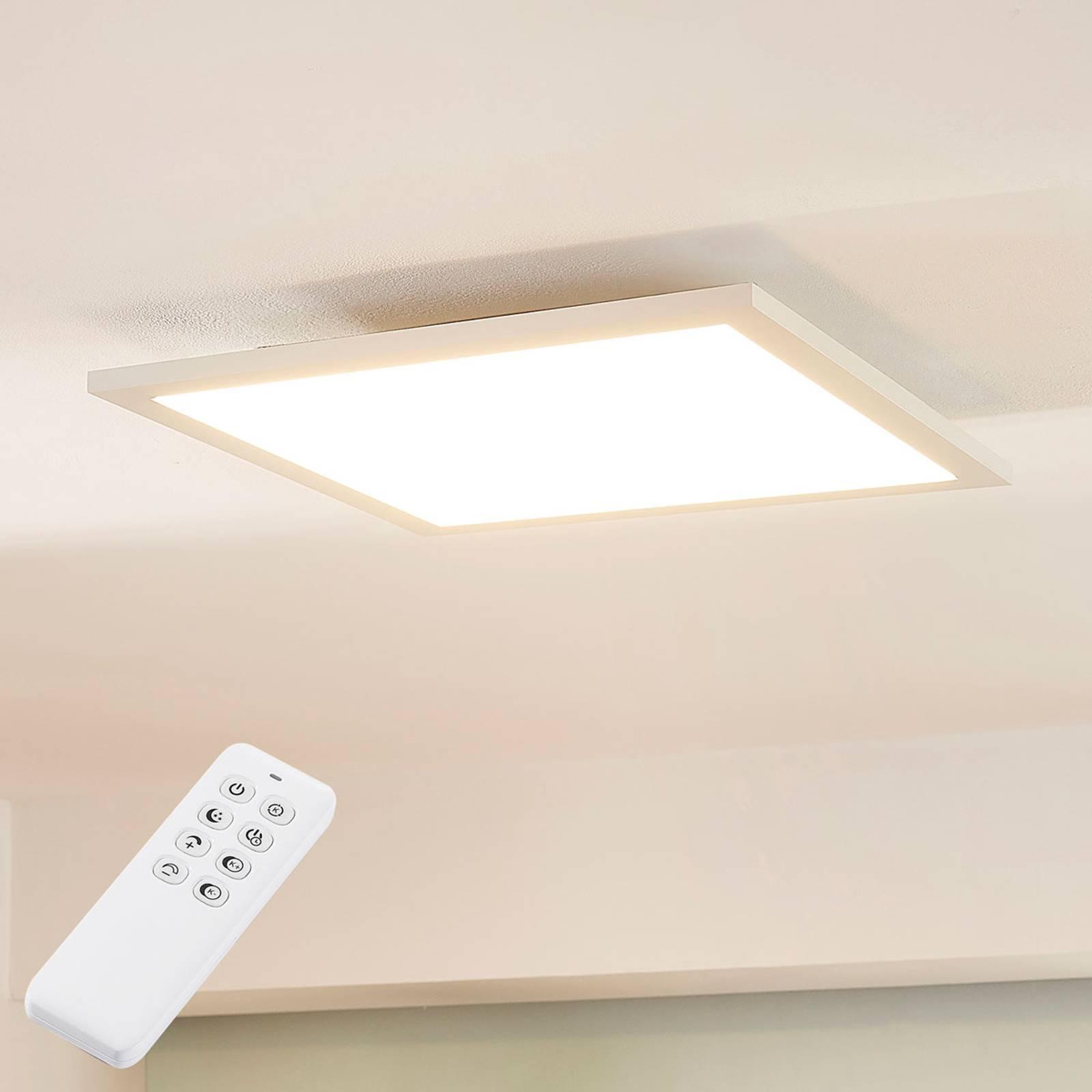 Arcchio Lysander-LED-paneeli CCT, 39 cm, valkoinen