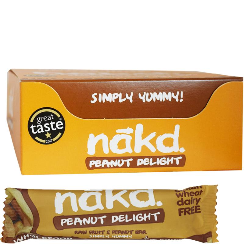 """Bars """"Peanut Delight 18-pack - 60% rabatt"""