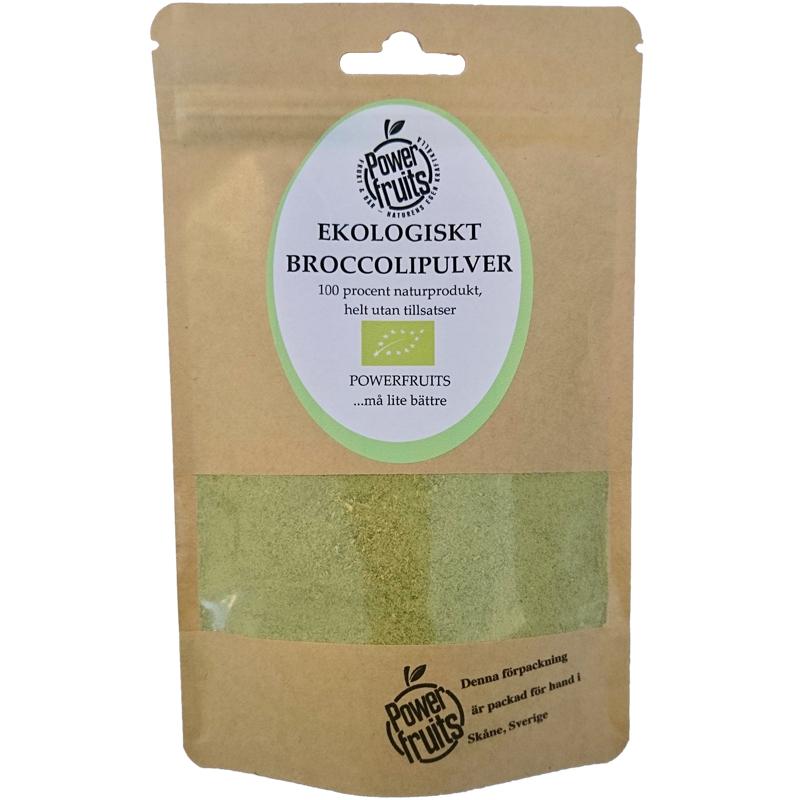 Broccolipulver 100g - 55% rabatt