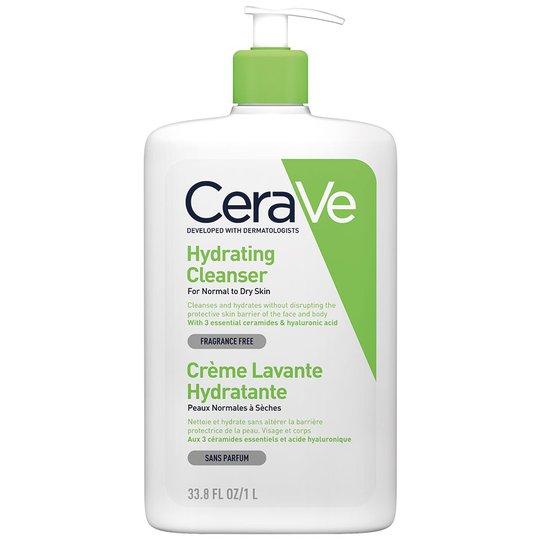 Hydrating cleanser, 1000 ml CeraVe Saippuat
