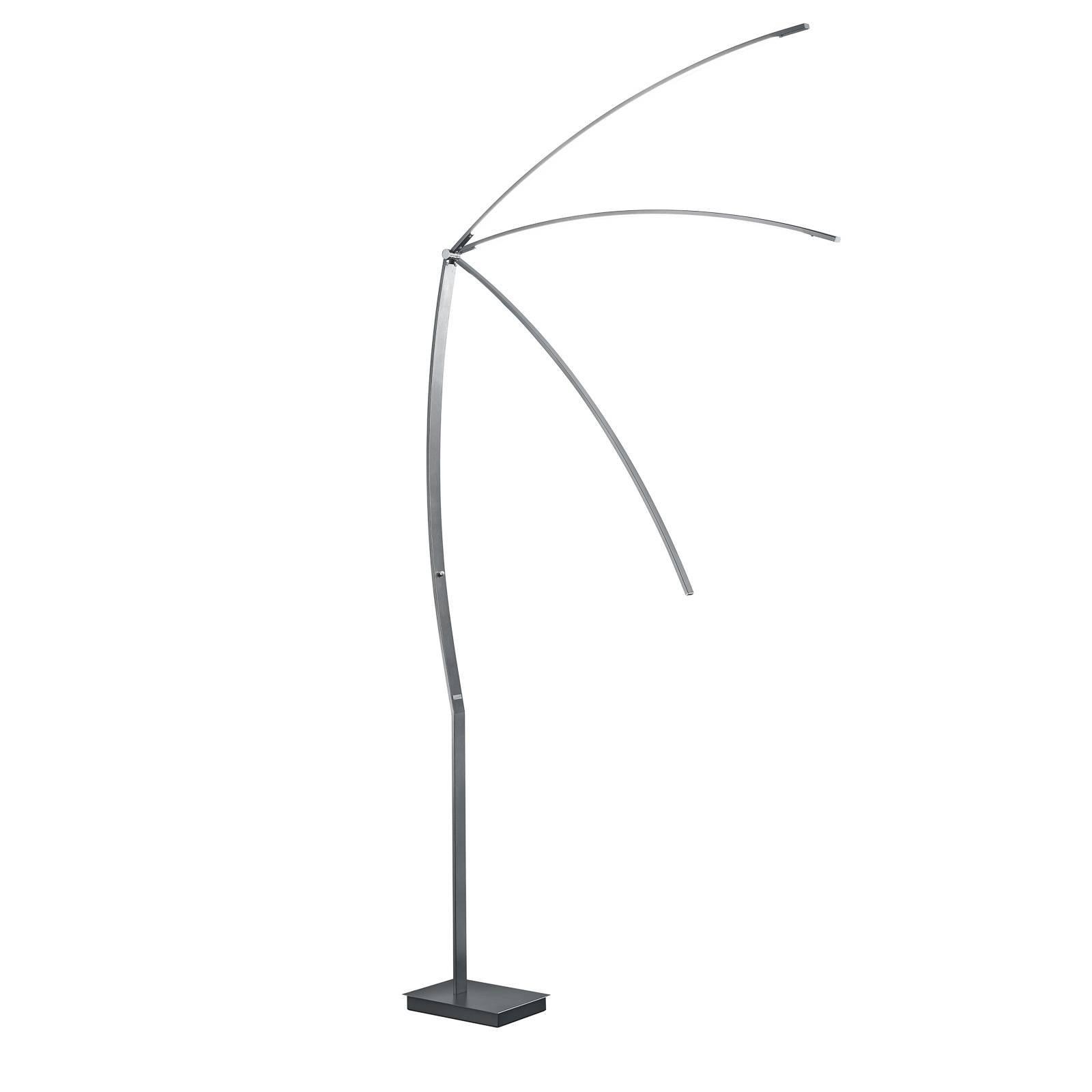 B-Leuchten New Tree LED-gulvlampe antrasitt 180 cm