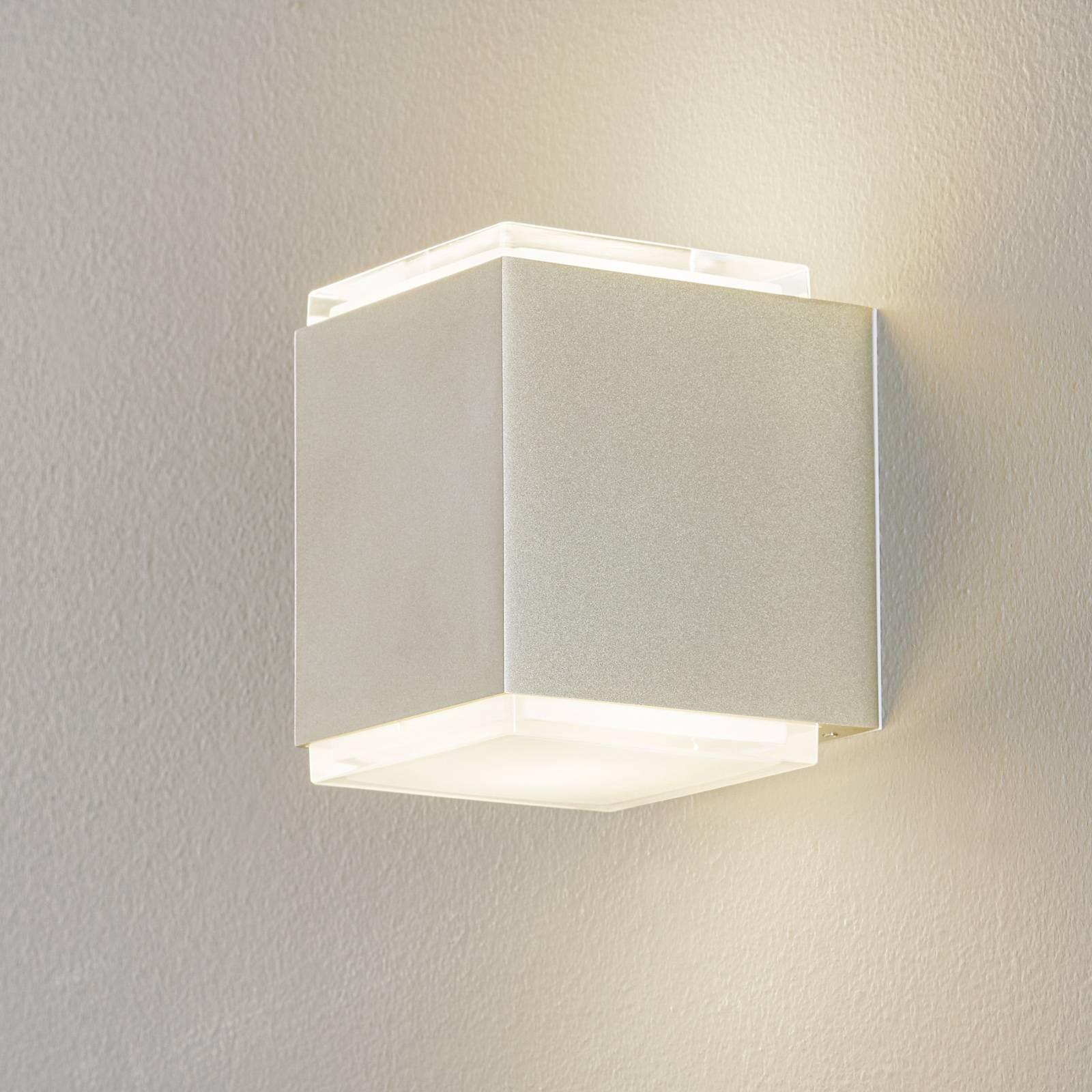 BEGA 50064 LED-seinälamppu 3000K 12cm palladium