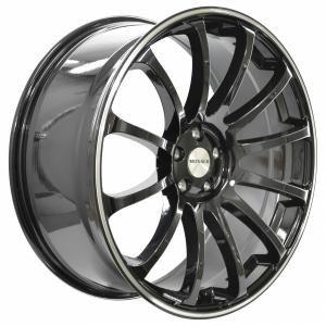 Monaco Massenet Black Polished 9x20 5/112 ET30 B66.5