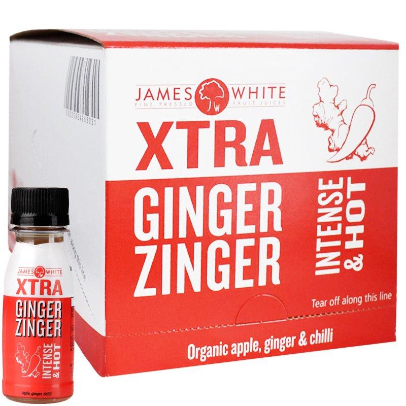 """Hel Låda Juice """"Ginger & Zinger"""" 15 x 70ml - 52% rabatt"""